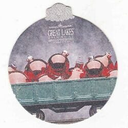 Great Lakes Brewing Company----christmas Ale-------lot Of 10 Coasters