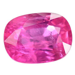 2.62 Ct. Huge Top Luster Richest Pinkish Red Unheated Ruby With Glc Certify