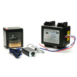 12 Volt Trailer Breakaway Kit With Rechargeable Sla Battery- Used For Trailers