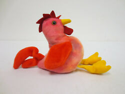 BEANIE BABY STRUT THE ROOSTER BABIES 1996 COLLECTION RARE COLLECTORS TY TOY CUTE