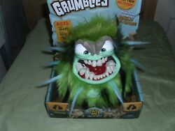 Grumblies Tremor, Green Plush Interactive Toys New And Sealed