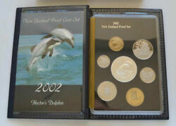 New Zealand - 2002 - Annual Proof Coin Set - Hectorand039s Dolphin