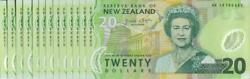 New Zealand - 20 - 13 Consecutive Polymer Notes - Wheeler And039type 1and039 - Ab14198971