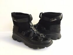 Ugg Puff Momma Lakes And Lights Black Winter Fur Sneakers Us 11 / Eu 42 / Uk 9