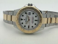 Rolex Yacht-master 40mm Two Tone 18k Yellow Gold & SS 16623