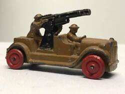 Vintage Barclay Military Man Oil Truck