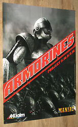 Armorines Project S.w.a.r.m. / South Park Rally Very Rare Poster 58x81cm