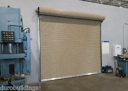 Duro Steel Janus 12and039 Wide By 12and039 Tall 1950 Series Insulated Roll-up Door Direct