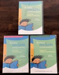 Reading Rockets Launching Young Readers Program 8, 9 And 10new/sealed