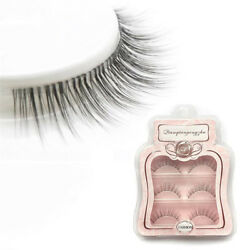 Pure Natural Crafts Transparent Terrier False Eyelash Paragraph Nude Eye Lashes