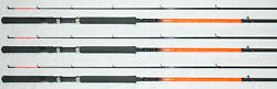 Ht Panfish Special Graphite Crappie Fishing Pole 11and039 Set Of 3 Rods Psg112