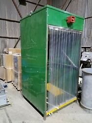Safety Shower Model 12418 Contained Water Shower W/ Eye Wash Bath Station Inside