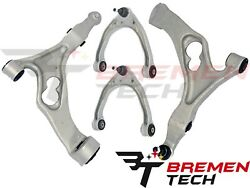 For Audi Q7 2007-2010 Front Lower And Upper Control Arms W/ Ball Joint Kit