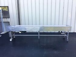 Stainless Steel Packing Conveyor Table - Assembly Work Table