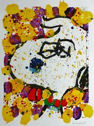 Tom Everhart Squeeze The Day - Wednesday Snoopy Peanuts Main Signandeacutee Coa