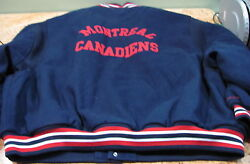 Mitchell And Ness Montreal Canadiens Hockey Jacket Size 64-5xl, Usc360