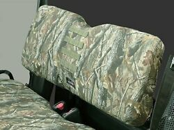 John Deere Gator Xuv550 S4 Rear Seat Cover - Camo - With Molle Pouch Attachment