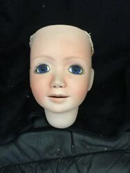 Reproduction antique doll head