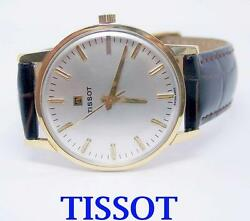Solid 18k Tissot Winding Watch C.1960s Cal 781 Exlnt Condition Serviced