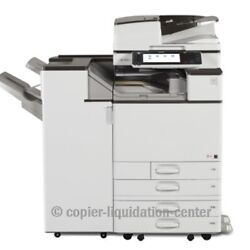 Ricoh Mpc5503 Color Copier Printer Scanner 55 Ppm - Meter - Ultra Very Low. V