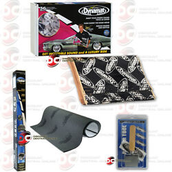 Dynamat 10455 Sound Dampening 9 Sheets 36 Sq Ft Plus Roller And Insulation Kit