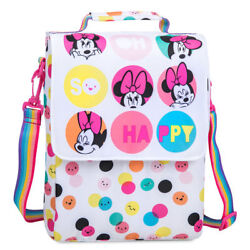 NWT Disney Store Minnie Mouse Lunch Box Tote school $14.99
