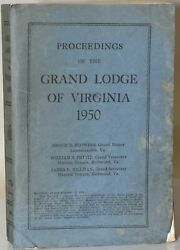 Enoch D Flowers / Proceedings Of The Most Worshipful Grand Lodge Of 281689
