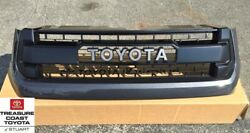New Oem Toyota Tundra 2014-2017 Trd Pro Grille Magnetic Gray 1g3