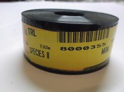 Species Ii 1998 Mgm 35mm Movie Trailer 1 53 Scope Sci-fi Collectible