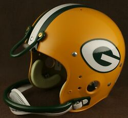Green Bay Packers 1980 Nfl Authentic Throwback Football Helmet