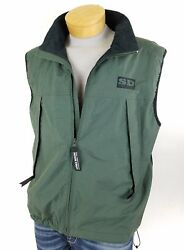 Sierra Designs Mens Hiking Climbing Trekking Vest Size L Mesh Vented Back Panel