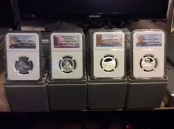 2010 -2020s Silver 25 C Complete Set 130 Coins
