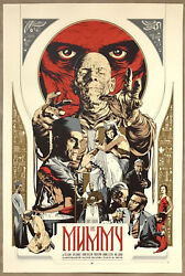 Martin Ansin The Mummy Movie Poster Mondo Universal Monsters Print Bowie Durieux