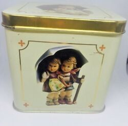 M. J. Hummel Tin Can Canister 1993