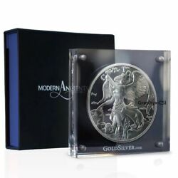 2015 Modern Ancients 10 Oz Nike Silver Proof Round - Goddess Nike - New In Box