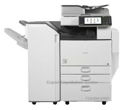 Ricoh Mp C4502 Mpc4502 Color Copier I Print Scan Speed 45 Ppm Low Meter N