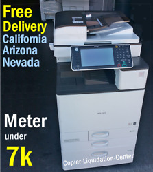 Ricoh Mpc3003 Mp C3003 Color Network Copier Print Fax Scan To Email 30 Ppm Yv