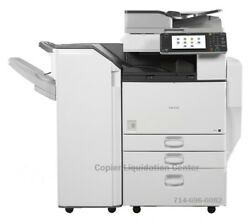 Ricoh Mpc5502mp C5502 Color Tabloid Copier Staple Finisher Speed 55 Ppm Lll