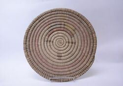 Very Large Hopi Coiled Basket 17 1/2 D - Late 19th Century