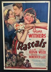 Rascals Original Movie Poster 1938 Jane Withers - Great Art Hollywood Posters