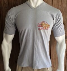 Kenny Rogers Menand039s Xl Tshirt 1984 World Tour Vintage 80and039s Country Gray 50/50