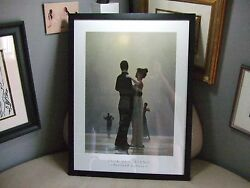 Dance Me to the End of Love Jack Vettriano Framed Print Poster PORTLAND GALLERY