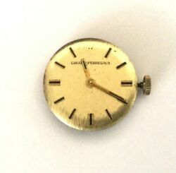 vintage Girard-perregaux 7919 612 Swiss Movement And Dial Wind Up 17 Jewels