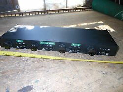 Vintage Oem Systems In Wall Speaker Selector With Volume And Switces. Made In Us
