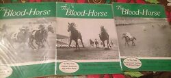 Blood Horse Preakness And Belmont Stakes Winner Nashua 3 Covers