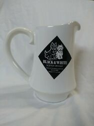 Black And White Whiskey Jug Pitcher Buchananand039s Blended Scotch Whisky
