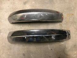 Dkw 1000 Sp Bumpers 1958 - 1965 Bumpers Front Rigth And Rear Left Oem