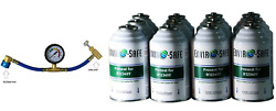 Envirosafe Stop Leak Sealant, Proseal For R1234yf, 12 Cans And Gauge