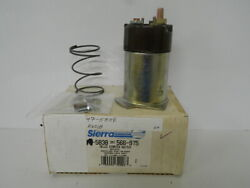 Sierra Part Number 18-5838 Delco Starter Switch For Several Marine Eng Details