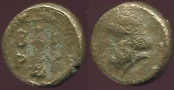 Grape Ancient Authentic Greek Coin 12g/104mm @grk1356.10us
